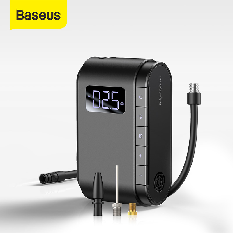 Baseus Wireless Inflatable Pump Portable Electric Air Pump For Car Motorcycle Bicycle Tire Inflator Smart Car