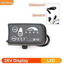 LED ekran su geçirmez Normal konektörü 810 elektrikli bisiklet bisiklet hız ölçer bağlantı Ebike far ve LED denetleyici