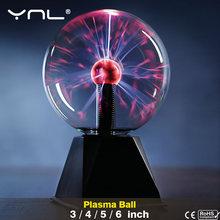 Новинка волшебный хрустальный плазменный шар сенсорный светильник