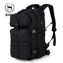 Scione 남자 군사 배낭 Mochilas 위장 여행 가방 남자 가방 35 L 트레킹 가방 방수 등산 배낭