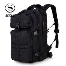 Scione sac à dos militaire pour hommes, sac à dos de voyage de Camouflage pour hommes, sac à dos imperméable pour Trekking, escalade de 35 L