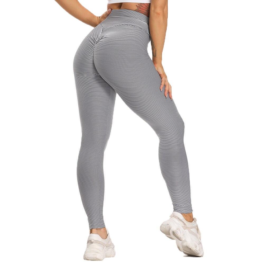 Women Sport Textured Booty Leggings 14