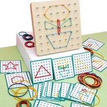 Tablero de manicura Montessori para niños, tablero de manicura de goma con tarjetas, juguetes creativos para niños en edad preescolar