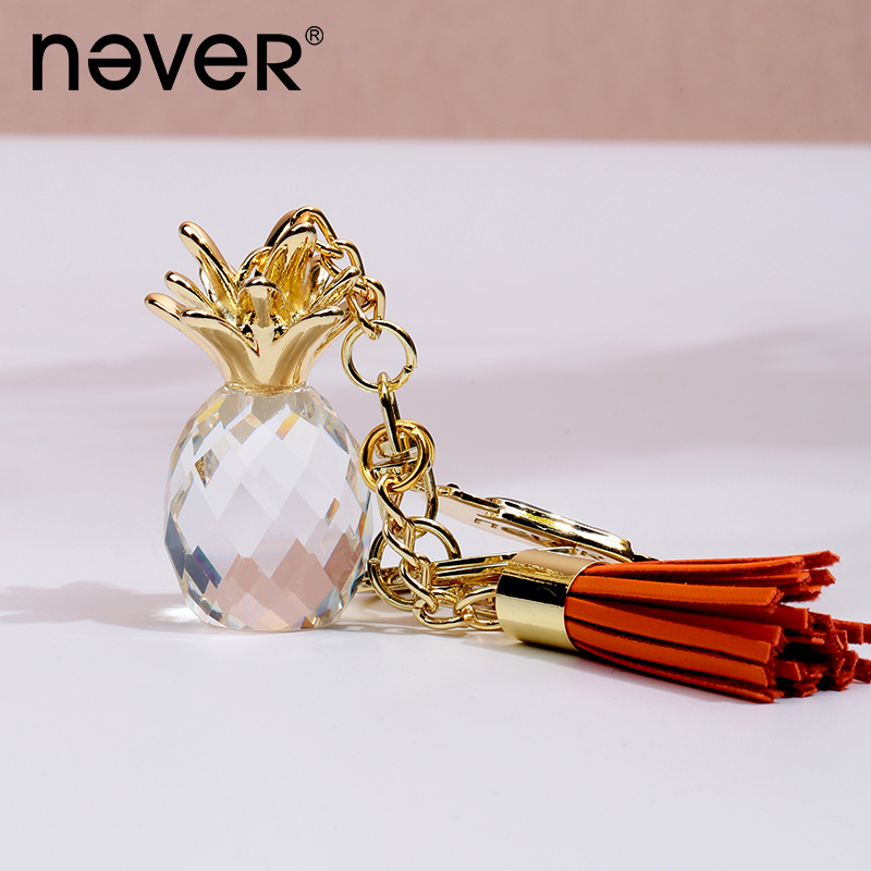 Never Pineapple Parrot Shaped Spiral Notebook Pendant Keychain Decorative Pendants Planner Bag Decorative Supplies Stationery