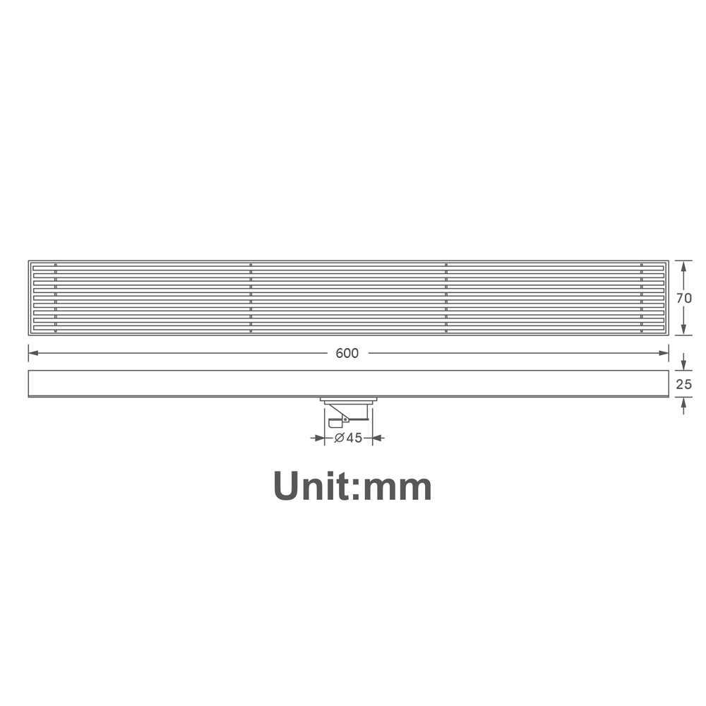 浴室ブラッシュ 120 センチメートルロング床ドレン 304 ステンレス鋼脱臭シャワー排水 70 センチメートル/80 センチメートル/90 センチメートル起毛水切り