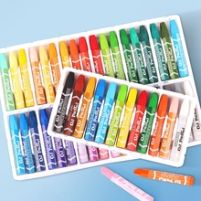 36 Colors Hexagon Shape Crayon Oil Pastel Artist Student Graffiti Painting Drawing Pen School Stationery Supplies Soft Crayon 86pcs children drawing set water color pen crayon oil pastel painting brush drawing tool art supplies school stationery set