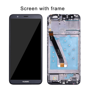 Huawei P умный ЖК-дисплей сенсорный экран дигитайзер сборка для Huawei P Смарт ЖК-дисплей с рамкой рис LX1 L21 L22 замена экрана