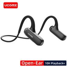 UCOMX G56 Sports Bluetooth Headphones Open-Ear Wireless Earphones 10H Playback Bluetooth Headsets for iPhone Samsung Xiaomi