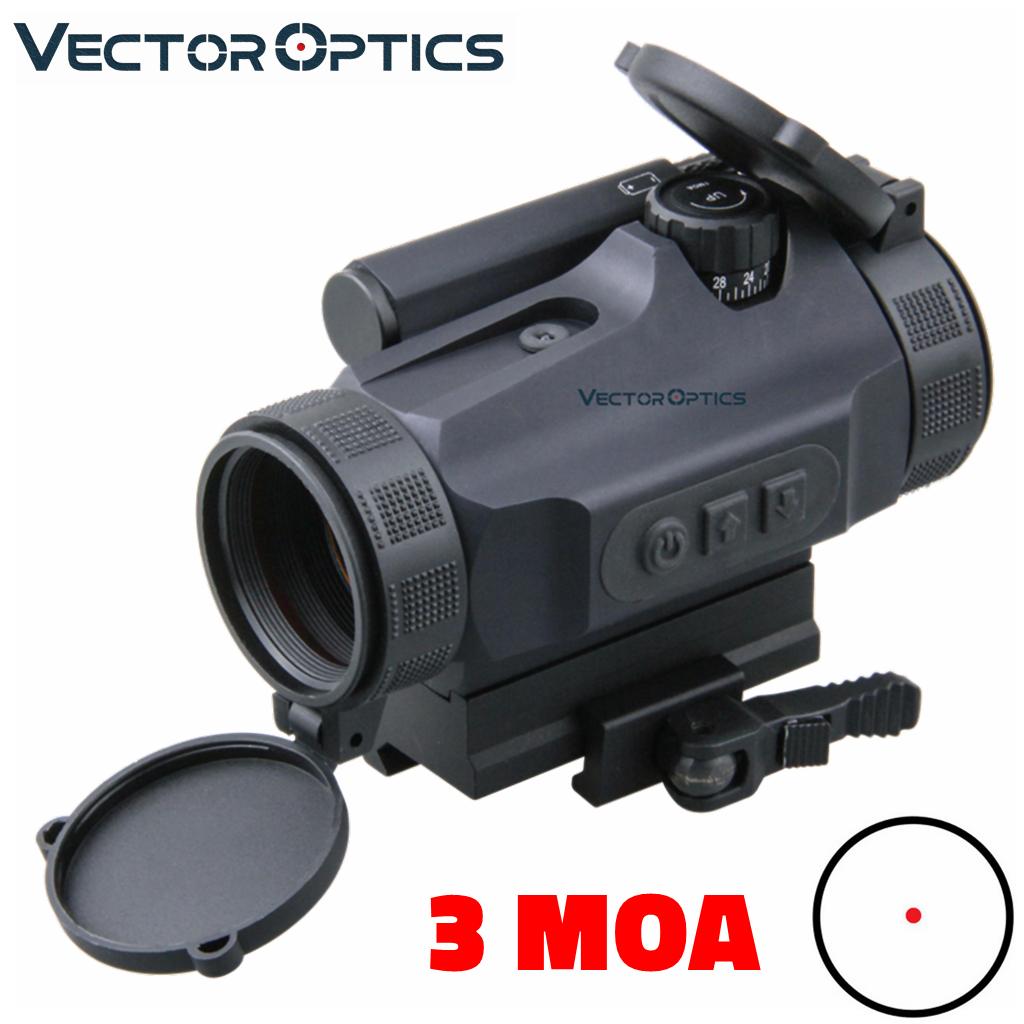 Vektör optik Nautilus GenII 1x30 manuel kontrol ve otomatik işık Sense taktik kırmızı nokta kapsamı QD yükseltici Picatinny montaj