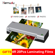 A4 Hot Laminator laminating Machine for A4 Document Photo Blister Packaging Plastic Film Roll Laminator