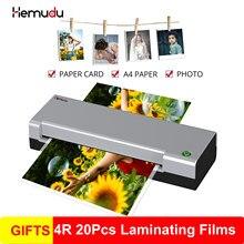 A4 laminador quente que empacota o laminador plástico do rolo do filme da bolha da foto do documento a4