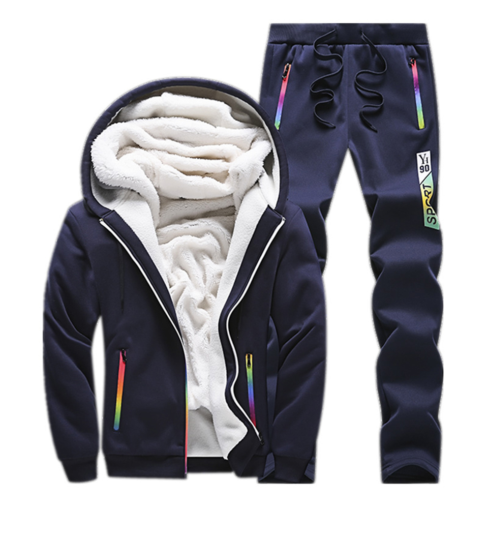 Solid Tracksuits Warm Sporting Jackets 1 12