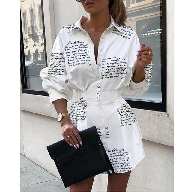 long big sleeved shirt dress 5