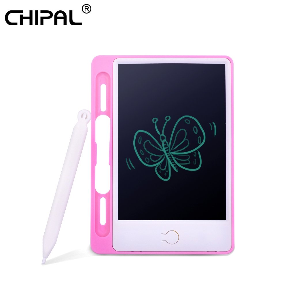 1PC 4.4 Portable Practical LCD Writing Board Reusable Drawing Tablet Board