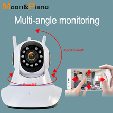 HD 1080P 720P 2MP Home Night Vision Alarm System Security Monitor Wireless Surveillance Camera Phone Wifi Remote Monitoring dc s1 new solar mobile phone remote wifi monitoring smart security 1080p hd night vision camera wireless camera