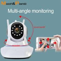 Hd 1080 p 720 p 2mp casa visão noturna sistema de alarme monitor segurança sem fio câmera vigilância telefone wi fi monitoramento remoto