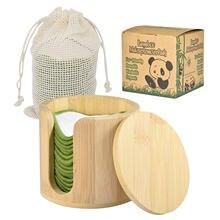 16 шт многоразовые подушечки для снятия макияжа бамбукового