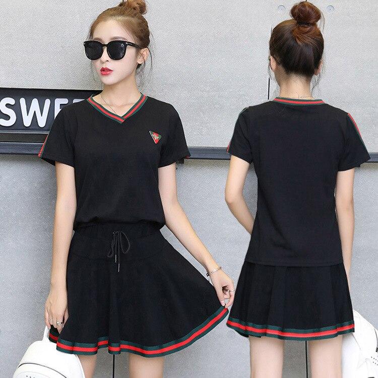 2018 Square Dance Clothing New Style Set Yang Liping Dancing Dress Summer Sports Costume Short Sleeve Dancing Dress