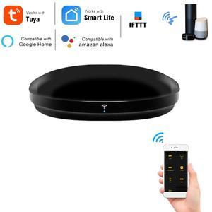 Remote-Control-Hub Google Alexa Home Wifi with 4-Pack Tuya Work Smart-Life-App IR