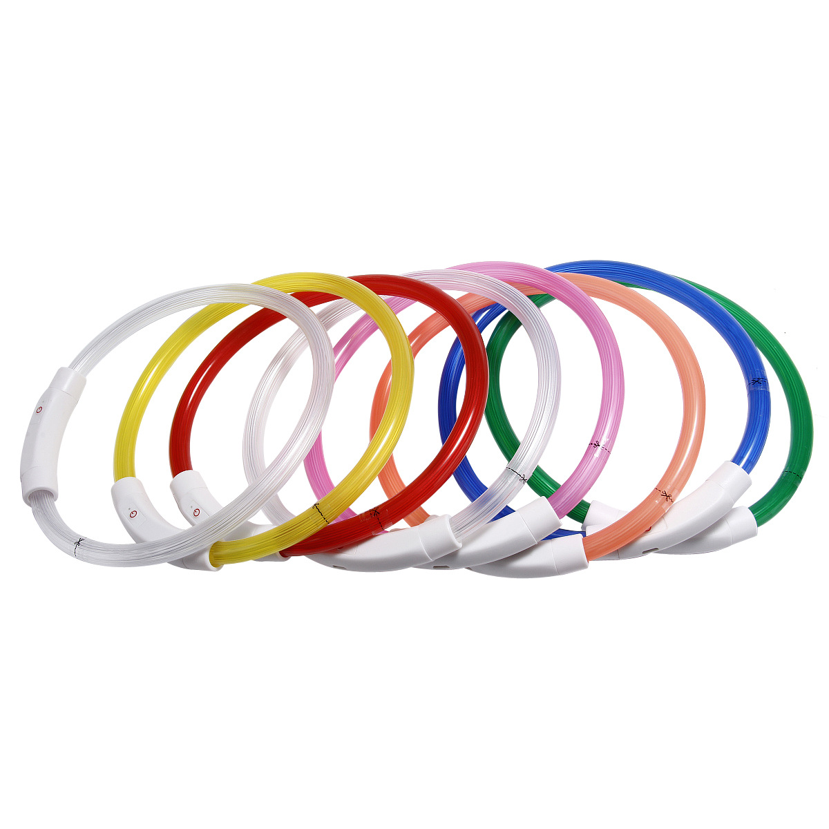 Pet Supplies DIY Multi-Color USB Charging Neck Ring LED Shining Dog Ye Quatrend