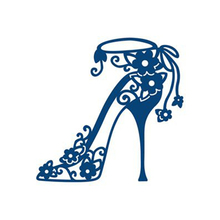 Buy YaMinSanNiO High Heels Lace Dies Scrapbooking Metal Cutting New 2019 Shoes Craft Dies Cuts for Card Making DIY Embossing Die Set directly from merchant!