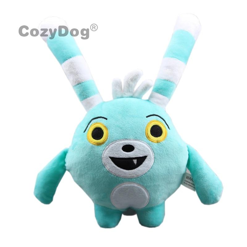 30cm Anime Abby Hatcher Bozzly Bunny Plush Figure Toy Doll Cute Kawaii Stuffed Animals Rabbit Toys Children Birthday Gift