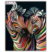 Алмазная 5d картина «сделай сам» двухцветная мозаика с изображением