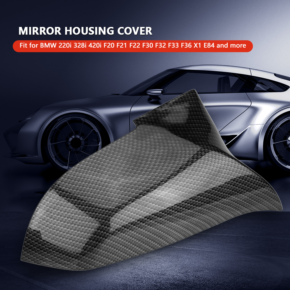 LMDC Rearview Mirror Cover White Wing Mirror Cover Rearview Side Wing Mirror Cap Cover Fit For BMW 1//3//4 Series F20//F21//F31//F32 Rearview mirror cover Size : Right