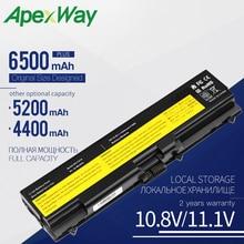 "Apexway аккумуляторная батареядля ноутбука lenovo ThinkPad T410i T420 T420i T510 T510i T520 T520i W510 W510 4389 W520 Edge 14 1"" SL410 510"
