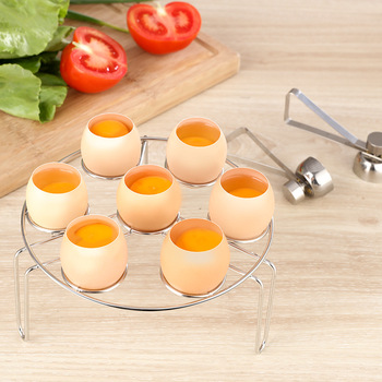 Creative Stainless Steel Boiled and Raw Egg Opener 2