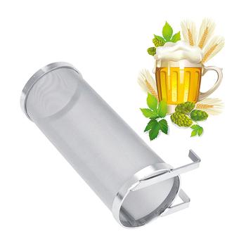 Ze stali nierdzewnej filtr do piwa z chmielu napojów wkład filtra domowe warzenie wiszące beczka na piwo filtr do piwa wkład tanie i dobre opinie Houkiper DE (pochodzenie) Metal STAINLESS STEEL Ekologiczne Na stanie Beer Filter Cartridge Bar imbryk