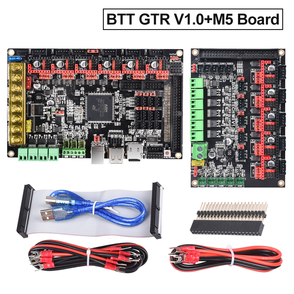 BIGTREETECH GTR V1.0 Control Board 32Bit+M5 V1.0 Expansion Board 3D Printer Parts TMC2208 TMC2130 TMC2209 TMC5160 Wifi Module