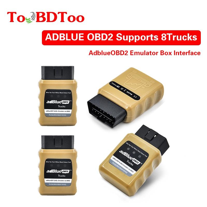 AdBlue Emulator NOX Emulation AdblueOBD2 Plug&Drive Ready Device By OBD2 Trucks Adblue OBD2 For Volvo/Iveco/SCANIA/DAF