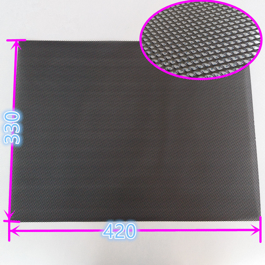 Fireproof Aluminum Mesh Can Be Cut Mainframe Cooling Dust Net Case Dust Net Cover Model Reconstruction Metal Mesh