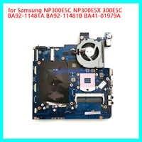 Duorun para samsung série np300 computador portátil placa-mãe BA81-09574A po1raj BA92-10340B ddr3 não-integrado intel 100% completo testado