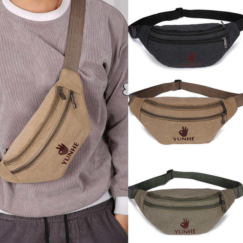 Men Waist Bag Traveling Funny-Pack Kidney Belt-Bag Running Cycling Sport Unisex Bum Bags Pouch Sac Banane Saszetka Na Biodra
