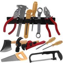 14 шт., набор инструментов для ремонта пилы, пилы, молотка, DIY, детские забавные игрушки-головоломки