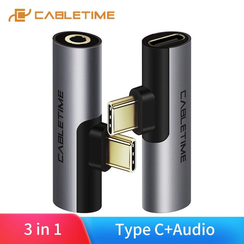 Câble USB Type C à Audio 3.5mm prise casque écouteur signal analogique pour Xiao mi Huawei Samsung type-c OTG USB-C OTG C018