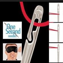12 шт./компл. игла для пожилых-боковое отверстие слепой иглы Нержавеющая сталь швейная само ing ручной бытовой швейной#734