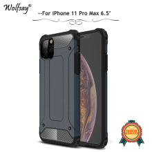 For iPhone 11 Pro Max Case Shockproof Armor Silicone Hard PC Phone Bumper Cover 6.5