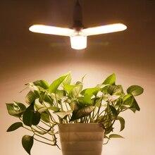 E27 LED Coltiva La Luce 150W Spettro Completo per la Serra Impianto Al Coperto e Fiore di Alta Resa La Crescita Delle Piante Lampada Regolabile A forma di