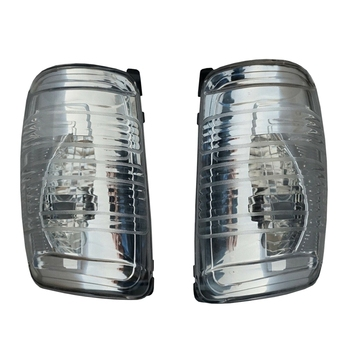 цена на for Ford Transit Mirror Turn Signal Indicator Mirror White AB 2013 Right+Left Rearview Mirror Turn Signal Light