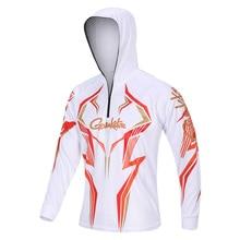 Новые уличные спортивные мужские рубашки для рыбалки с длинным рукавом на молнии размера плюс для рыбалки дышащие с защитой от ультрафиолета для рыбалки одежда для велоспорта