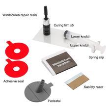Набор инструментов для ремонта лобового стекла автомобиля DIY, набор для ремонта лобового стекла автомобиля, защитные декоративные наклейки на дверные ручки