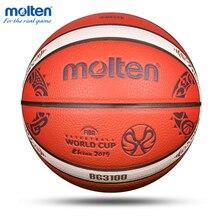 Erimiş orijinal basketbol topu B7G3100 M9C Size7 çoğaltma PU evrensel rekabet eğitimi otantik basketbol baloncesto