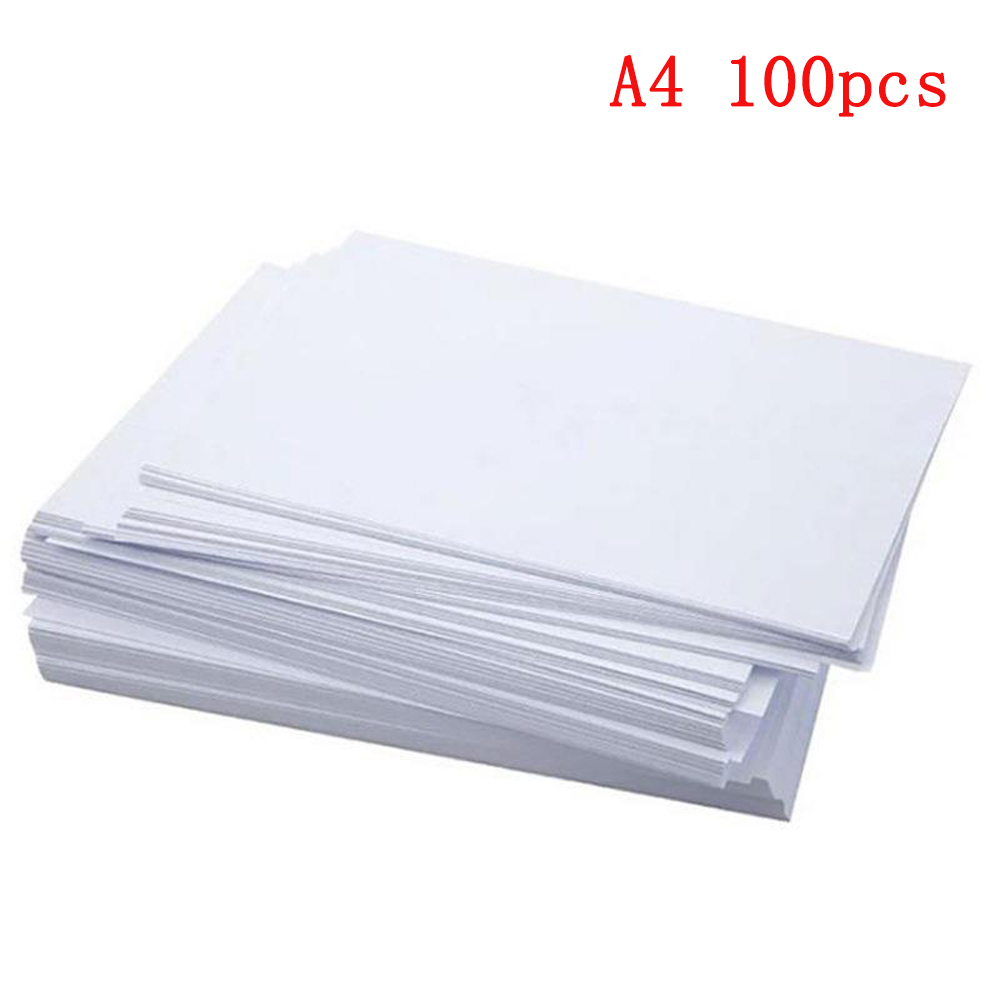A4 White Printer Copy Paper 80gsm Quality 100 Sheets Ream Copier Multi Purpose