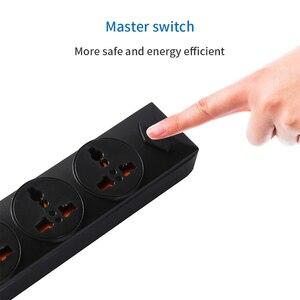 Image 2 - NTONPOWER Universal Power Strip 4 USB Charger Smart Home Electronic Socket EU Plug Extension cord For EU UK AU US