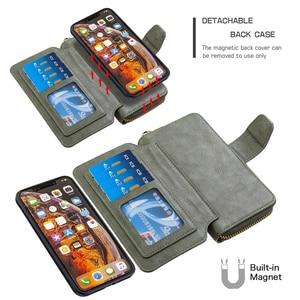 Image 4 - Flip Wallet Case Voor Xiaomi 9T CC9 Note10 Redmi 7 8 7A 8A K20 Note 9 8T 9S 8 7 Pro Lederen Etui Card Slots Magnetische Telefoon Cover