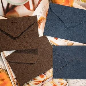Image 5 - 50pcs/pack C6 Retreo Window Envelopes Envelopes Wedding Party Invitation Envelope Greeting Cards Gift Envelopes