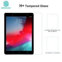 Nillkin H + מזג זכוכית עבור iPad אוויר 2019/Pro 10.5 2017/מיני 2019/מיני 4/9. 7/פרו 11/פרו 12.9 (2018) מסך מגן 9H